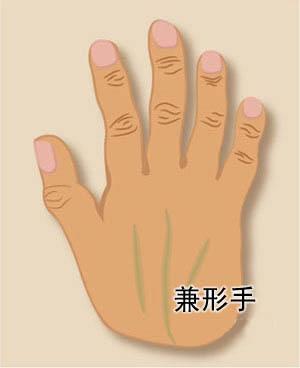 手相算命图解大全之手形(7)